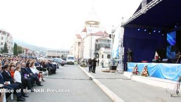 Monserrat Caballé cantó en Artsaj