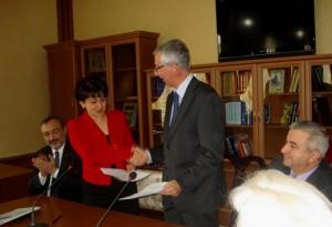 Se firmó un convenio con la Universidad Católica de Louvain