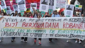 """Delil Delali: """"Hoy todo el mundo conoce a los kurdos y a Kobani"""""""