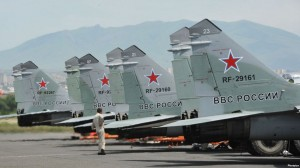 aviones rusos armenia