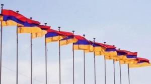 banderas armenias