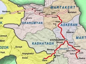 Vardenis_Martakert_Highway