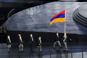 baku desfile armenios