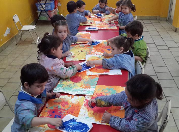 Las obras de la artista pl stica yayoi kusama y sala sol for Actividades para jardin maternal sala de 2