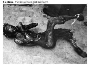 Sumgait-cadaver quemado _1_1988