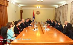 Bako-Sahakyan-Parlamentarios Flandes