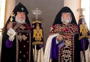 Catolicoses-Aram-y-Karekin