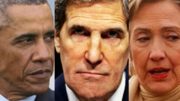 Obama-Kerry-Hillary-Clinton