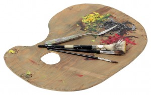 Paleta-pintor