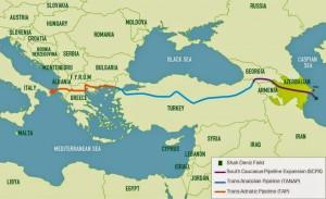 Gasoducto Corredor del Sur