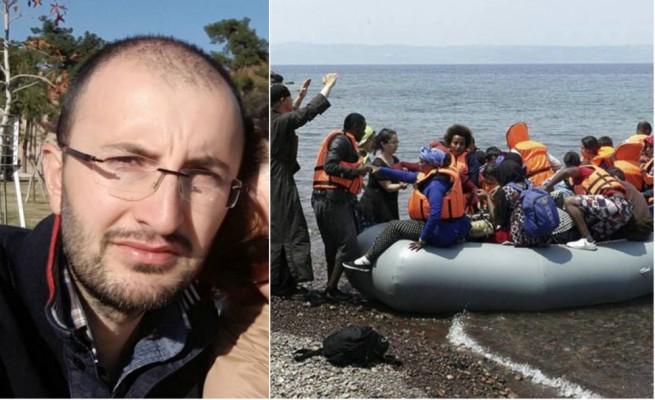 Periodista turco escapa Grecia