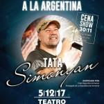 Tata Simonyan en Argentina
