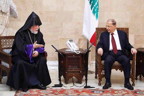 Aram I presidente Libano