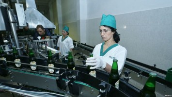 A press tour took place at the beer factory of Dilijan, Tavush Province