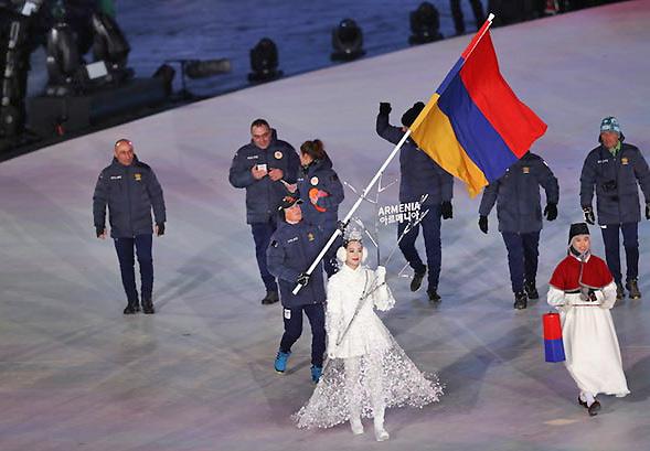 Videos impactantes de la Ceremonia de apertura de Juegos Olímpicos de invierno