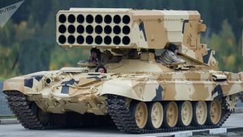 TOS-1ª tanques rusos