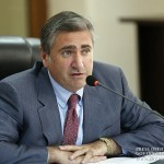 Arthur Khachatryan, Ministro de Agricultura