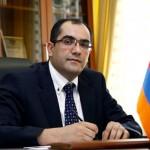 Hrachya Rostomyan, ministro de Situaciones de Emergencia