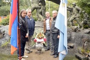 Veteranos de Malvinas en Córdoba - Prensa Armenia