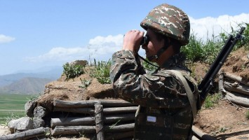 Journalists paid a visit to N.. military unit of Vayk in Vayots Dzor Province