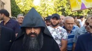 Protestas-Echmiadzin