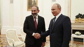 Putin Pashinian 2