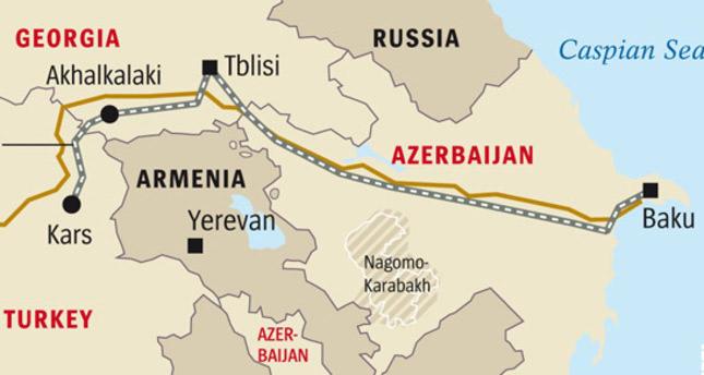 Mapa-tren-Kars