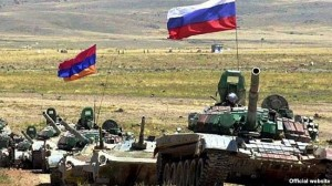 ejercicios miliatres armenio-rusas