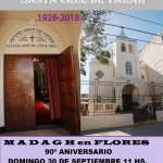 Santa Misa y Madagh anual de la Iglesia Armenia Santa Cruz de Varak