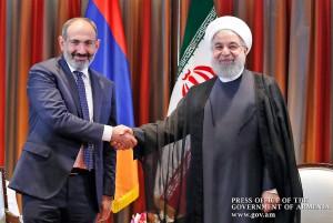 Pashinian--Hassan-Rouhani
