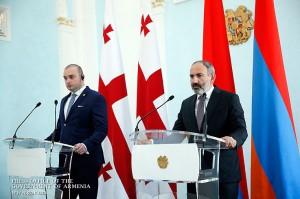 Pashinian-georgiano