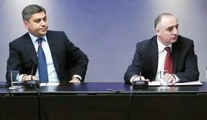 Artur Vanetsyan y Sasun Khachatryan