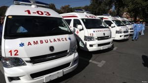 Ambulancias chinas