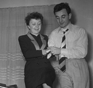 Con Edith Piaff, el Gorrión de París