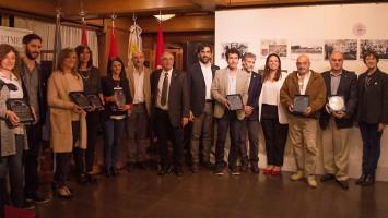 Con directivos de las escuelas armenias de Buenos Aires