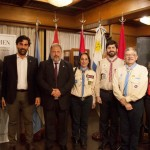 Con autoridades de Scout Argentina