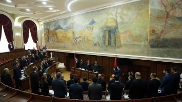 En la reunión see observó un minuto de silencio en memoria de las víctimas.
