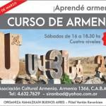 Comienzan las clases de idioma armenio de Hamazkaín