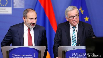 Pashinian-Bélgica-Juncker