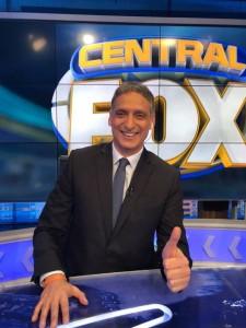 Walter Safarian en su programa de Fox Sports.